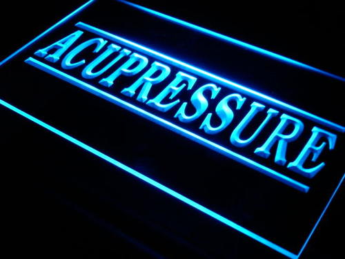 Acupressure Lure Shop Bar Decor Neon Light Sign